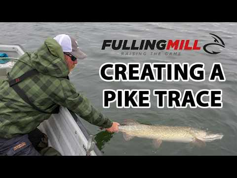 Pike Fly Leader with trace