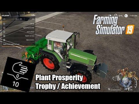 Farming Simulator 19 | Plant Prosperity | Trophy/Achievement