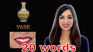 20 words British people pronounce differently