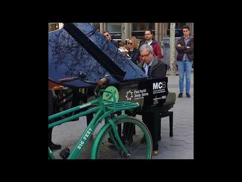 바르셀로나 거리 공연 / Grand Piano @Barcelona