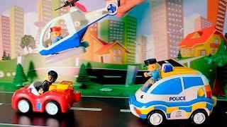 Мультики про игрушечные Полицейские Пожарные машины и Скорую помощь для детей.
