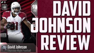How Good is 93 Overall David Johnson? MUT 18 Card Review
