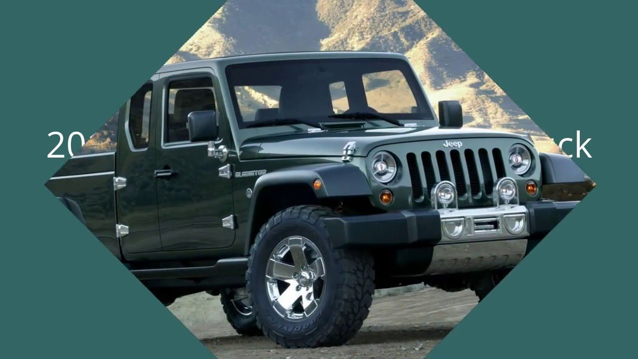 Jeep Wrangler Pickup Truck 2017 >> 2017 Jeep Wrangler Pickup Truck - YouTube