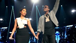 "Nicki Minaj and Meek Mill's Sexy ""All Eyes On You"" Performance 2015 BET Awards"