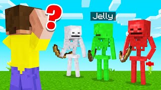 Which SKELETON Is The REAL JELLY? (Minecraft Guess Who)