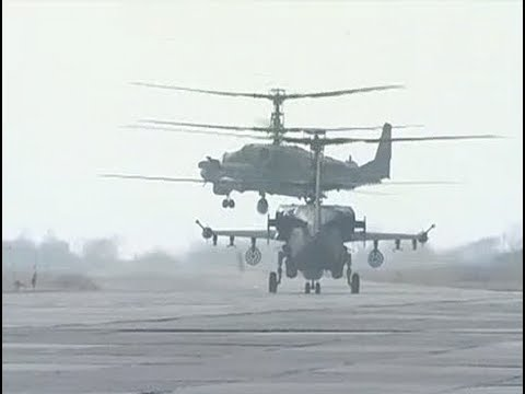 Kamov Ka-52 Simulator and Live Fire Footage
