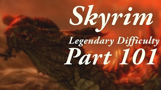 Skyrim Legendary Difficulty Story Part 101 - Character Progress Update