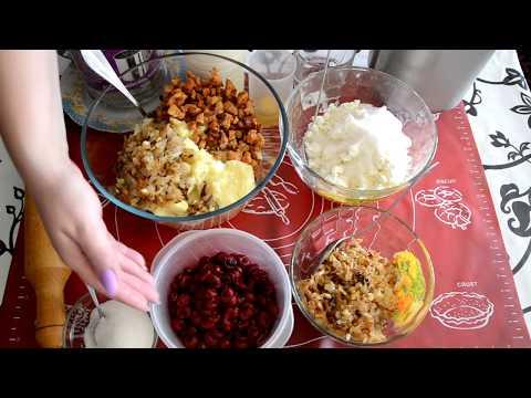 Топ-4 начинок для вареников/ Рецепт теста /Вкусные вареники с разными начинками