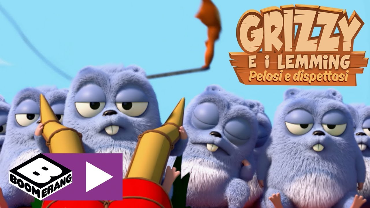 Download Il volo dell'aquilone   Grizzy e I Lemming   Boomerang