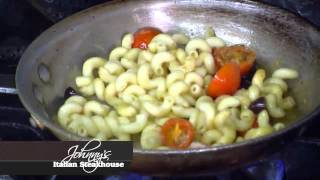 Cavatappi With Black Olives And Feta Pasta.mp4