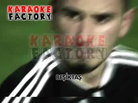 beşiktaş marşı karaoke  gücüne güç katmaya geldik hd karaoke