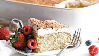 Homemade Tres Leches Cake Recipe » 3 Milks Cake