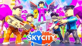 Sky City Roblox - Релиз Моей Игры! 💎