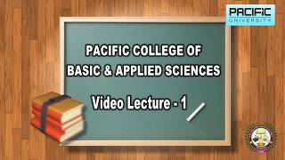 Control and coordination Lecture for 10th & 12th classes -2018 | Pacific Science College, L-1