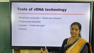 II PUC | BIOLOGY | CET / NEET | BIOTECHNOLOGY  : PRINCIPLES, PROCESSES AND APPLICATIONS  - 2021