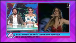 Milett Figueroa cantó en concurso y la comparan con 'La Chimoltrufia'