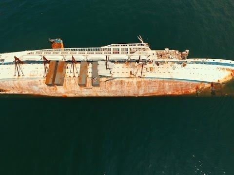 ocean dream sunken ship youtube