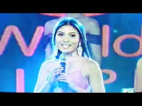 MISS WORLD PHILIPPINES 2016 - TOP 5 QUESTION AND ANSWER