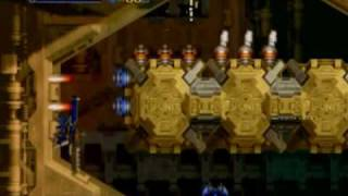 Radiant Silvergun (Sega Saturn) - Beginner gameplay.