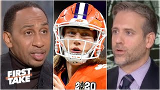 First Take reacts to Trevor Lawrence testing positive for COVID-19