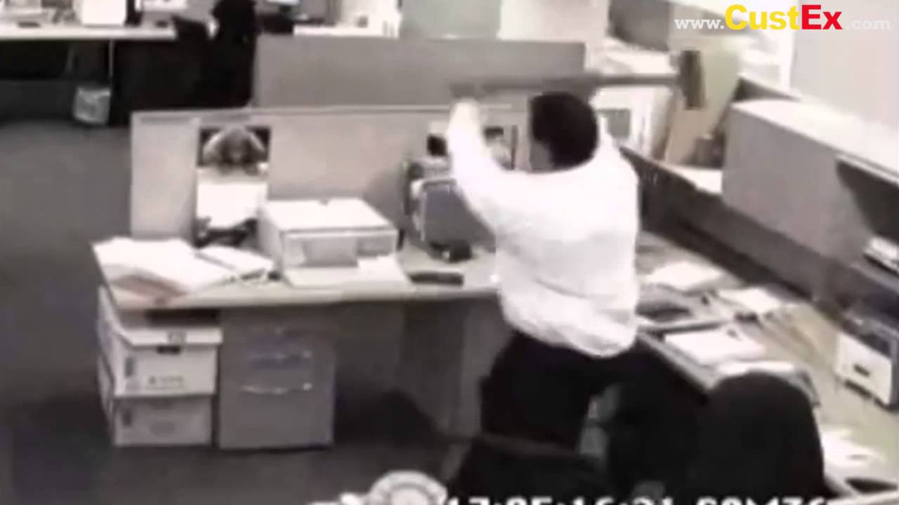 Frustrated Office Worker - YouTube