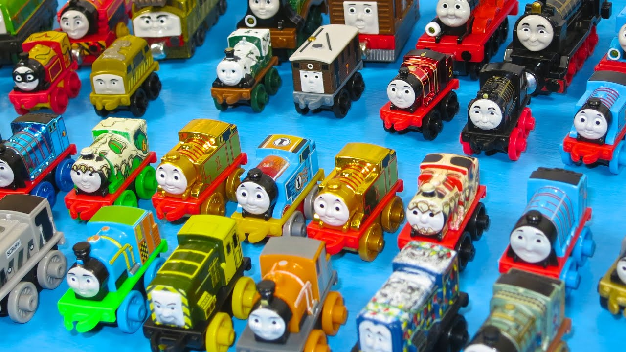 70 THOMAS AND FRIENDS MINIS TRAIN TANK ENGINES NEW LITTLE THEMED CHARACTERS MINI TOYS