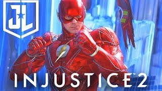 INJUSTICE 2 - Justice League Movie FLASH Epic Gear COMPLETE SET Showcase! with NEW Nth Shader