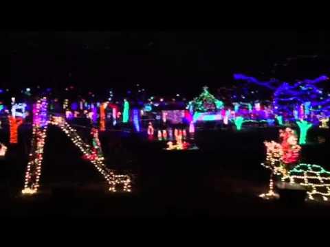 Rhema Christmas Lights.Christmas Lights At Rhema Bible College In Broken Arrow Oklahoma