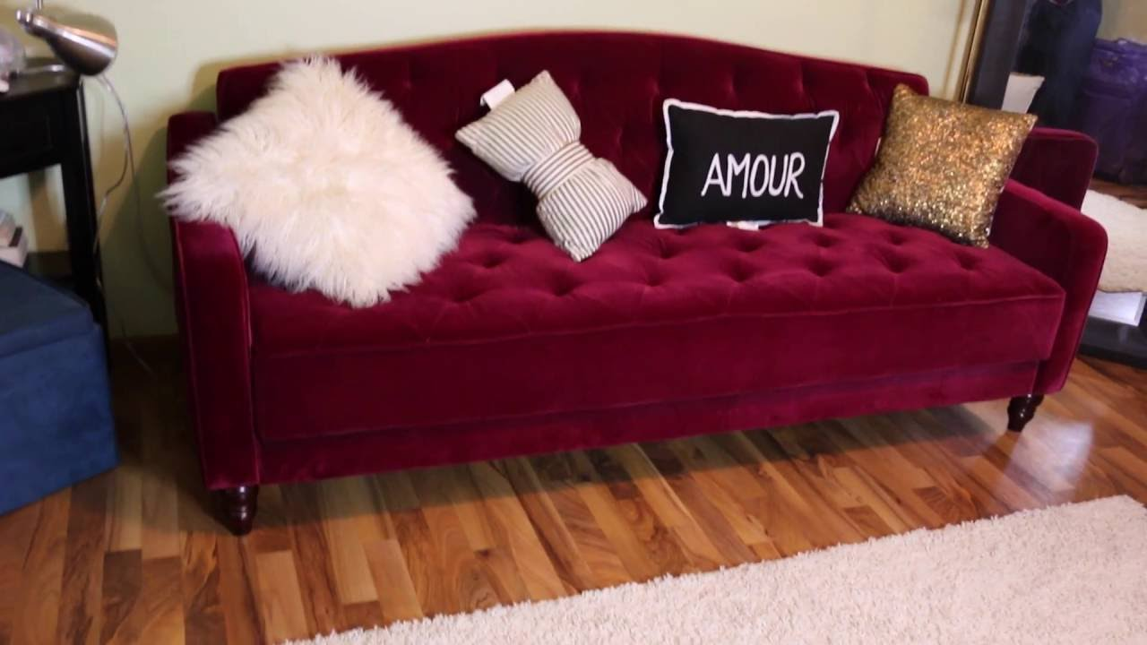Unboxing My Vintage Inspired Sofa Sleeper