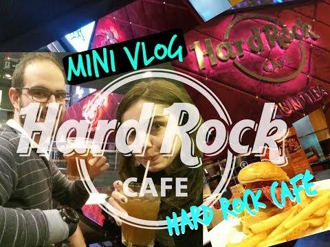 HARD ROCK CAFÉ CURITIBA - MINI VLOG 2 #GuiMARGUTTI #GUiPoraí