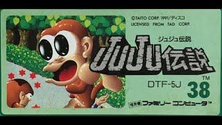 NES Longplay Toki(JuJu Densetsu) / ファミコン JuJu伝説