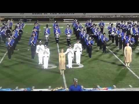 "The 2015 Oak Creek High School Marching Knights Final Performance of ""Soundscapes"""
