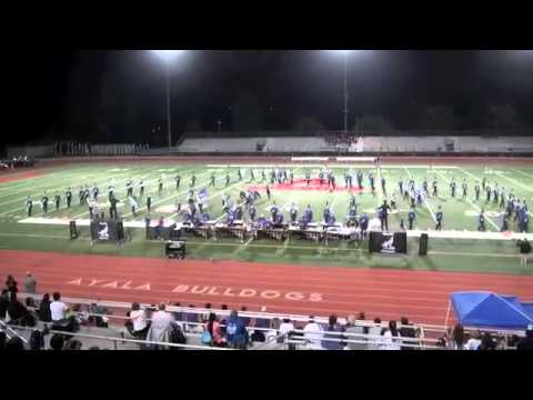 Riverton High School Marching Band Music in Motion Oct 17 2015
