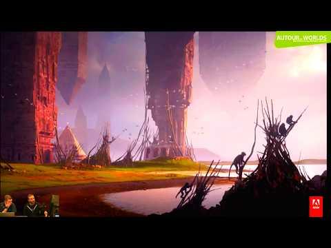 """MasterClass avec Raphaël Lacoste  Autour de """"Worlds"""" Adobe France 720p"""