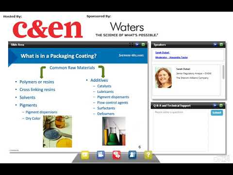Evaluation of Packaging Safety - Migrants Characterization using Advanced Analytical Tools
