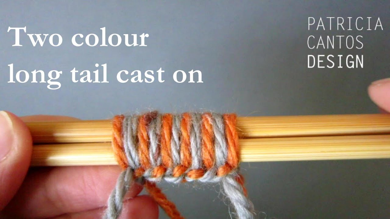 how to add a color in knitting