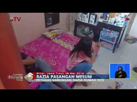 Razia Rumah Kos Di Blitar, Petugas Amankan 5 Pasangan Bukan Suami Istri - BIS 29/05