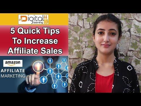 AFFILIATE MARKETING (Hindi) - 5 Powerful Affiliate Marketing Tips To Increase Affiliate Sales thumbnail
