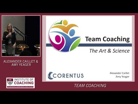 Watch Team Coaching Demo Live at Institute of Coaching (IOC) Conference