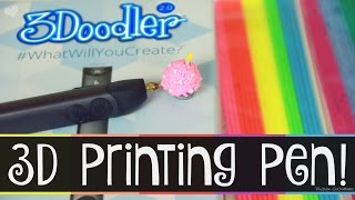 3doodler 2 0 tutorial demo review easy guide for beginners 3d printing pen