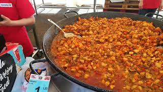 Street food la Brăila Mall