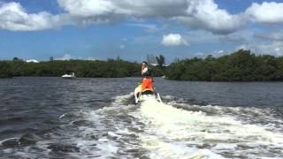 Jet skiing with DOLPHINS through the Florida Everglades