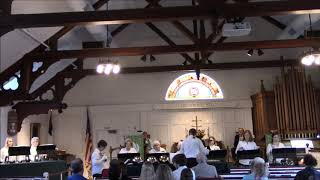 Nauset Ringers playing Creation's Dawn A Prairie Hymn 2019-11-17