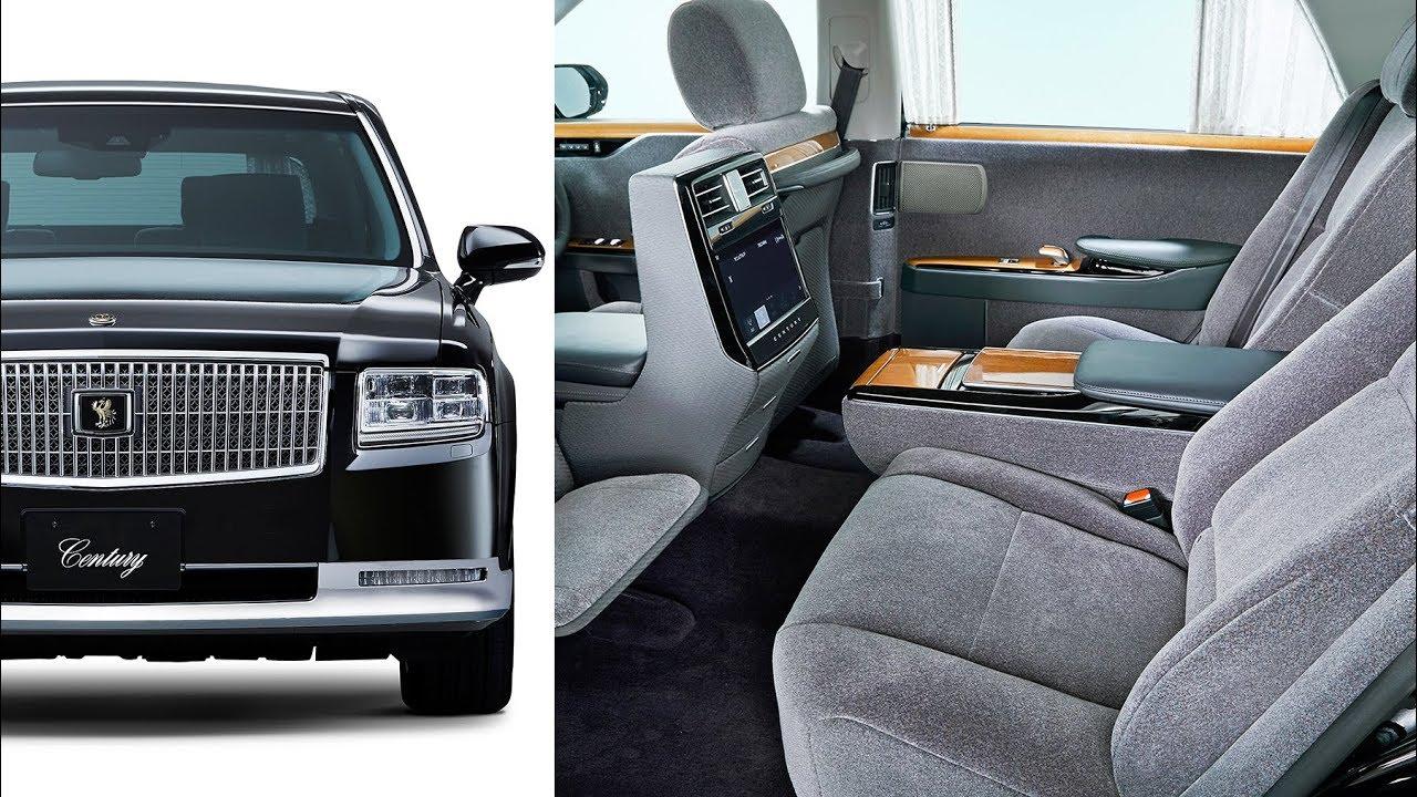 2018 Toyota Century The Japanese Hybrid Luxury Limousine