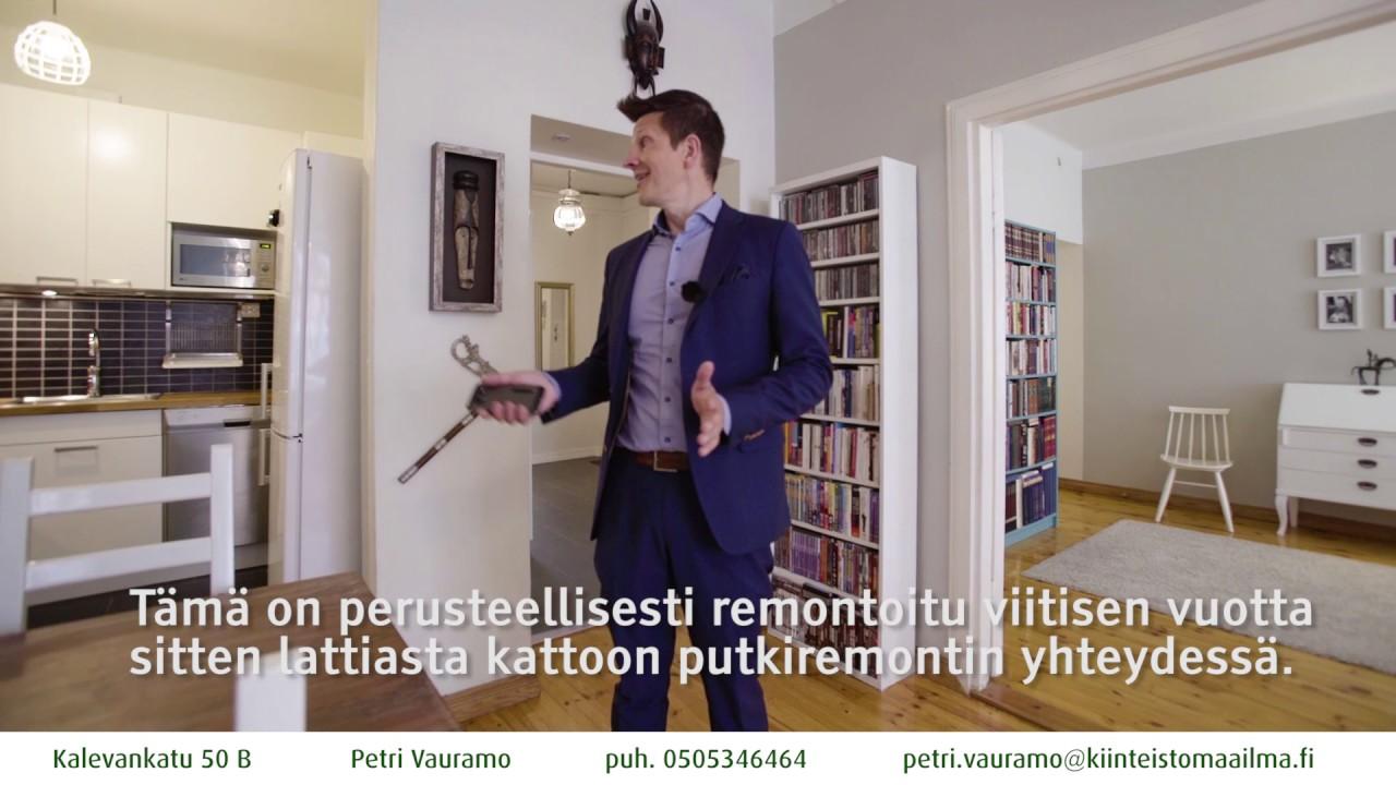Kamppi kolmio, Helsinki, myydyt asunnot. Kiinteistönvälittäjä Vauramo. - YouTube