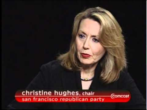 Interview. Chair San Francisco Republican Party, Christine Hughes