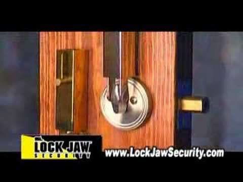 Preventing Home Invasions - Lock Jaw™ Security