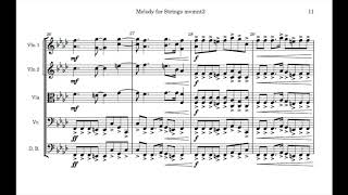 Melody for Strings mvmnt. 2