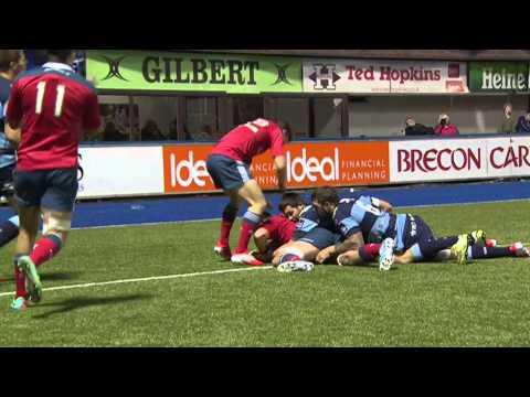 Cardiff Blues V Munster  Highlights – GUINNESS PRO12 2014/15