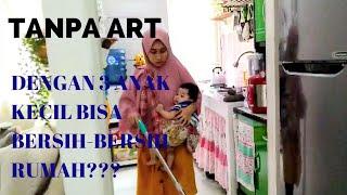 Clean Up With Me Part I, Indonesia, Rutinitas Pagi ,beres-beres Rumah Dan Membua